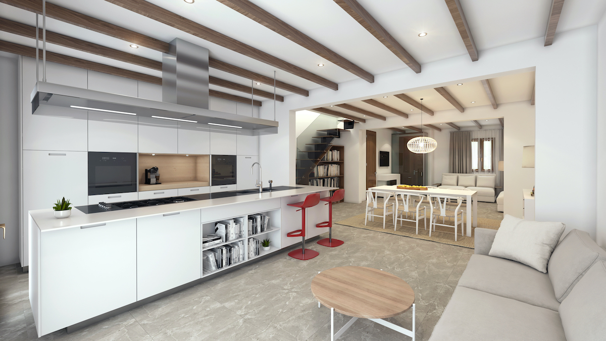 Refurbishment project kitchen in Pollença